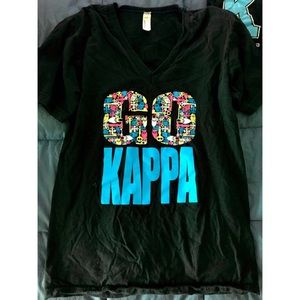 V-neck American apparel Kappa Bid Day 2013